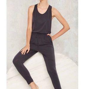 Lush Cross Back Jumpsuit - Lounge Wear
